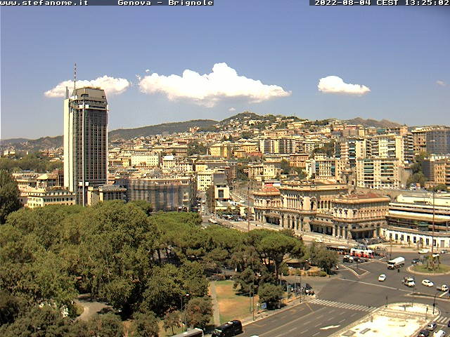 Webcam di Genova, Liguria